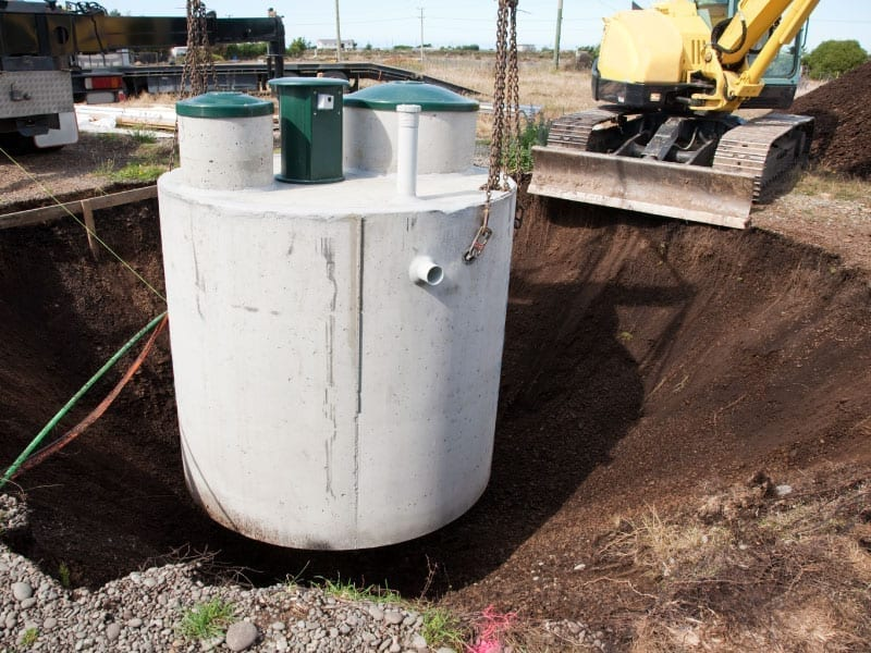 septic tank & Sewage Treatment Plant installation the new forest