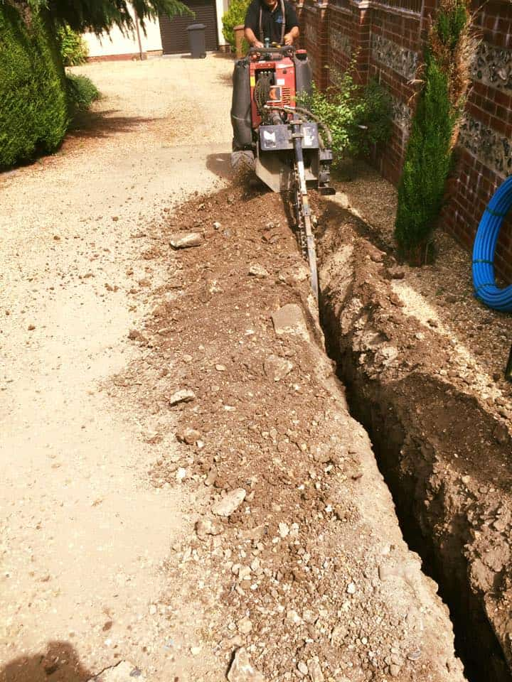 Water Main Replacement | Lymington | The New Forest